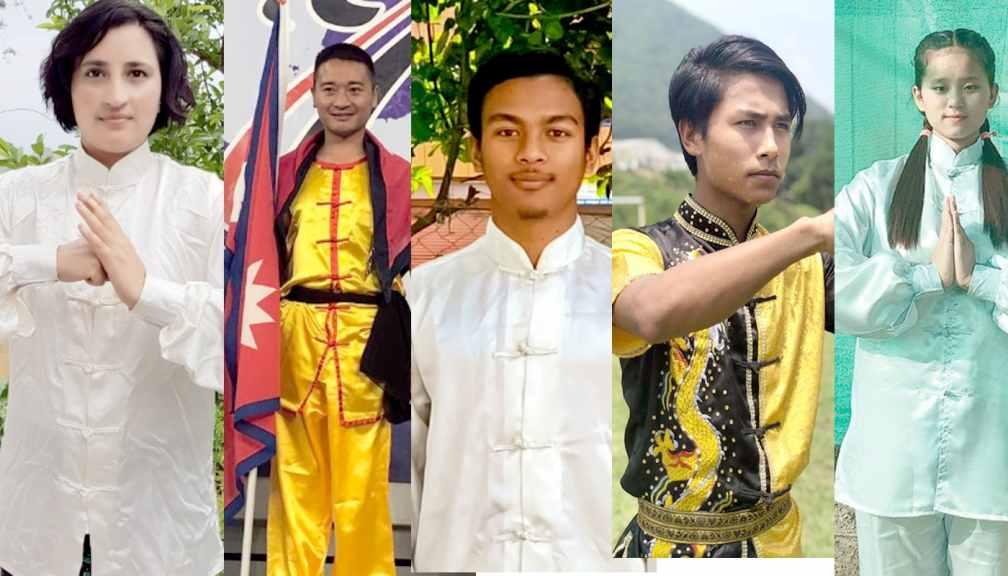 उमा कुङफु भर्चुअल प्रतिस्पर्धामा नेपाललाई चार स्वर्ण