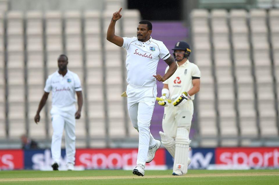 ईङ्गल्याण्ड वेस्टईण्डिज टेष्टको पहिलो दिन १८ ओभरको मात्र खेल