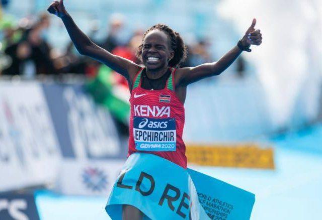 केन्याकी धाविकाको विश्व रेकर्ड