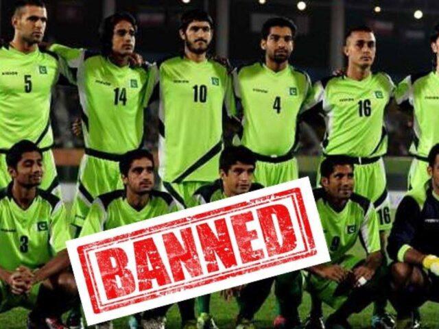 पाकिस्तान फुटबलमाथि फिफाको प्रतिबन्ध