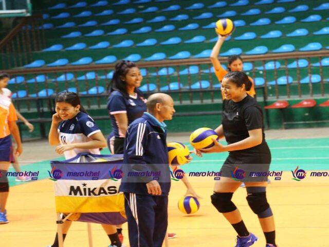 भलिबलको प्रशिक्षणबाट नौ खेलाडी बाहिर, १८ खेलाडी सहित प्रशिक्षण जारी रहने