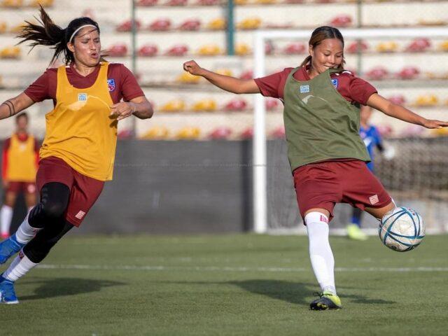 राष्ट्रिय महिला टोलिले अन्तराष्ट्रिय मैत्री खेल खेल्ने