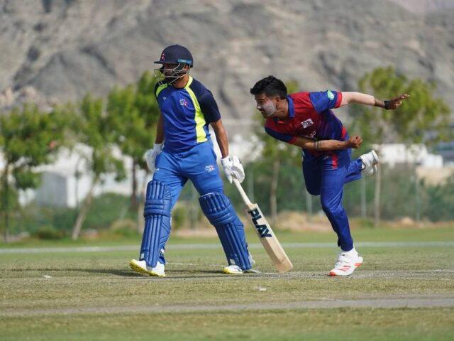 ओमानमा जारी नेपाली क्रिकेट टिमको अभ्यास (फोटो फिचर)